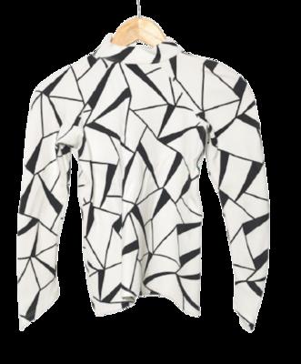 Buy: Geometric Long Sleeve Top