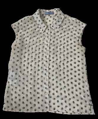 Buy: Dice Printed Sleeveless Shirt Size 6