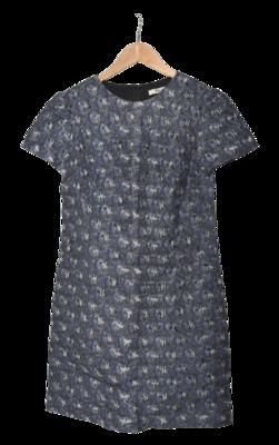 Buy: Blue Printed Mini Dress Size 8
