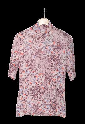 Buy: Floral Turtleneck Top Size 8