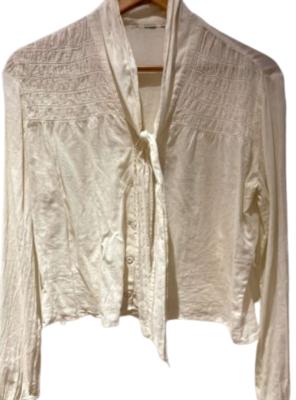 Buy: Light cotton smocked blouse Size 8-10