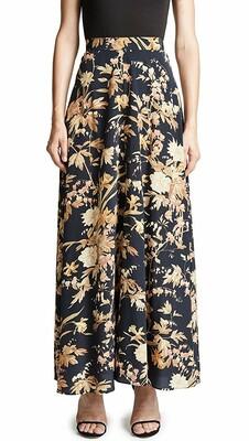Buy: Floral maxi unbridled basque skirt Size 8