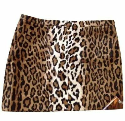 Buy: Cheap and Chic Leopard print mini skirt Size 6-8