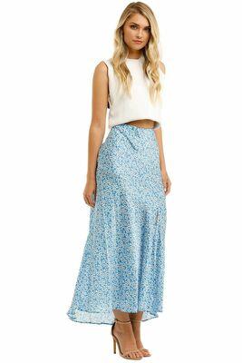 Buy: Bec + Bridge Alizee Silk Midi Skirt Size 10