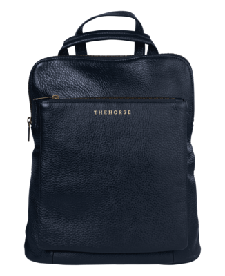Buy: Black Leather Backpack