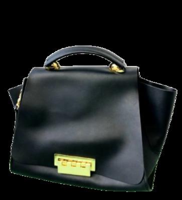 Buy: Black Leather Eartha Iconic Soft Top Handle Bag