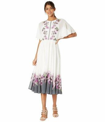 Buy: Neapolitan frilled neck maxi dress Size 6 BNWT