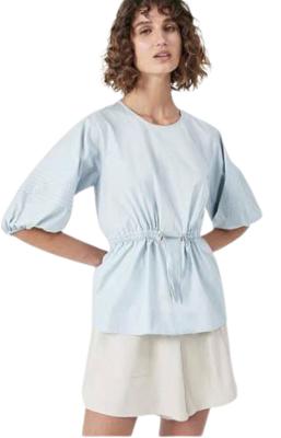 Buy: Balloon sleeve Peplum blouse Size 6