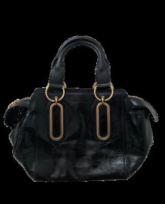 Buy: Black Leather Crossbody Bag