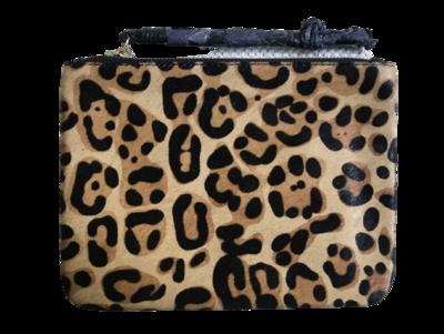 Buy: Leopard print large pouch BNWT