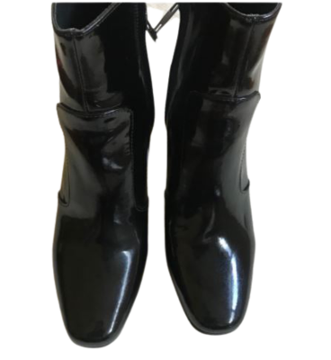 Buy: Patent black boots Size 7