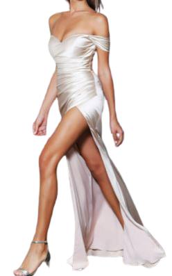 Buy: Champagne Bella Dress  Size 14