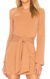Buy: Chloe Mini Dress in Tan Size 12