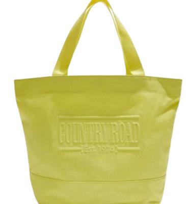 Buy:  Canvas tote bag Yellow BNWT