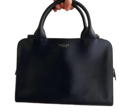 Buy: Medium Zip Top Handle handbag Navy