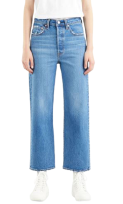 Buy: Ribcage Straight Leg Ankle Jean Size 28