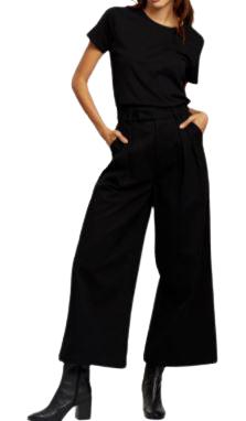 Buy: Organic cotton wide leg pants Size 8