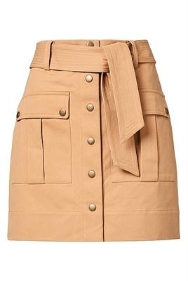 Buy: Canvas mini skirt Size 10
