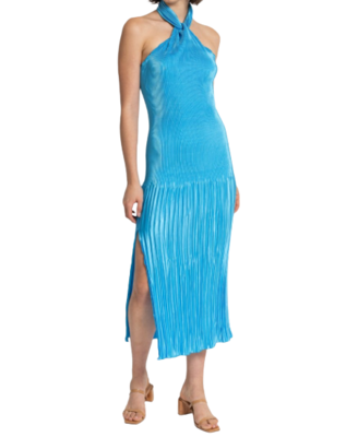 Buy: Blue pleated dress BNWT Size 12