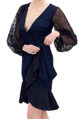 Buy: Navy polka dot dress BNWT Size 8