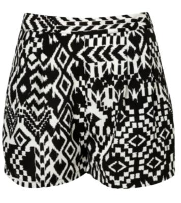 Buy: Aztec print shorts Size 6