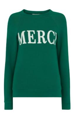 Buy: Merci Embroidered Sweatshirt Size 8