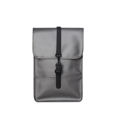 Buy: Metallic charcoal backpack