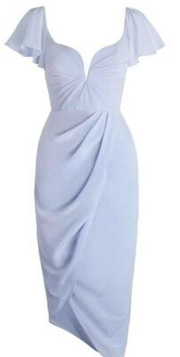 Buy: Silk Flutter Long Dress Size 8