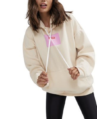 Buy: Swing Oversize Hoodie in Ivory Size 12