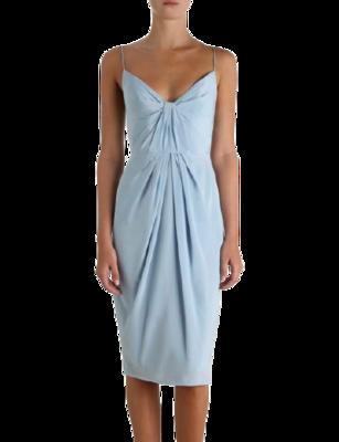 Buy: Silk Folded Dress BNWT Size 8-10
