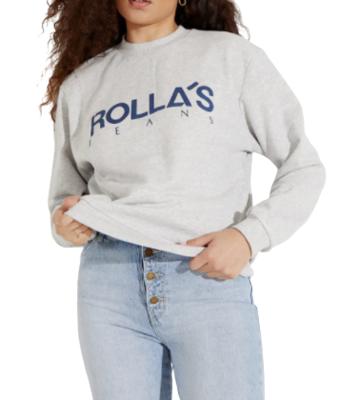 Buy: Vintage Logo Sweater Grey Marle Size 6-8