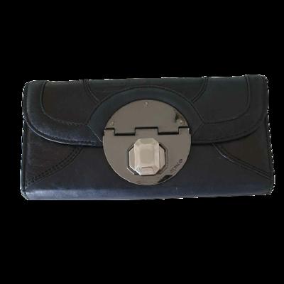 Buy: Turnlock Leather Wallet