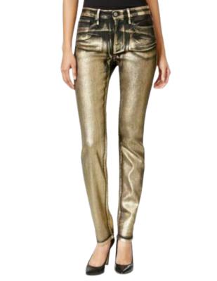 Buy: Black & Gold Ultimate Skinny Jeans Size 28