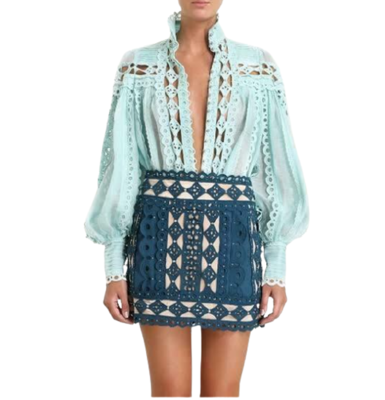 Buy: Moncur Studded Skirt BNWT Size 6-8