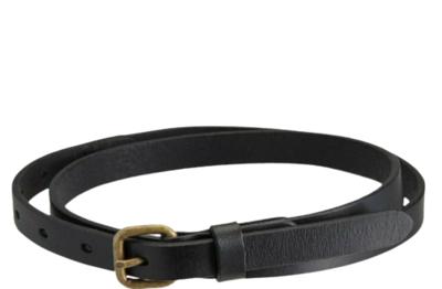 Buy: Only Lovers Left Women's Black Leather Belt