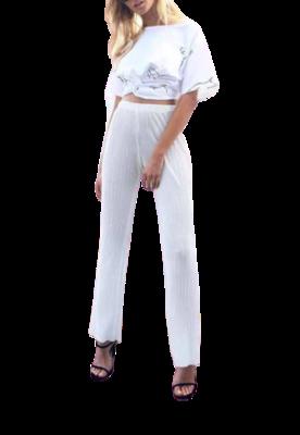 Buy: Plisse Pants Size 8