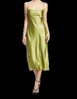 Rent: Nights In Paris Silky Slip Dress Size 10