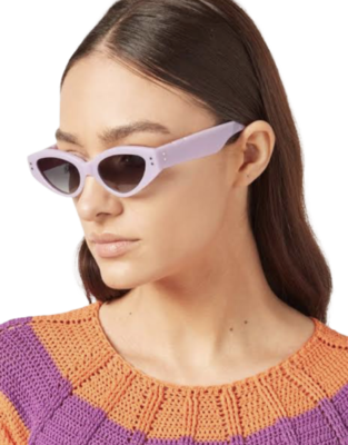 Buy: x Pared  Rave Cave Sunglasses-Lilac