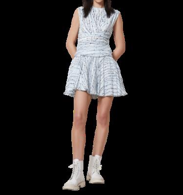 Rent: Azul Silk Linen Mini Dress Size 8