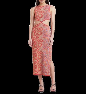 Rent: Phoenix Midi Dress Size 12