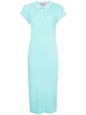 Buy: Knitted Polo Dress