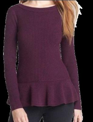Buy: Ramona Peplum Sweater Size 10