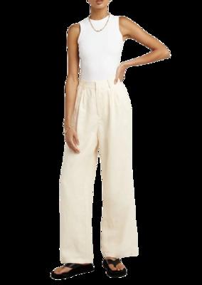 Buy: Norah Cream Linen Pants