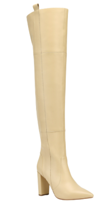 Buy: Hansina Leather Over The Knee Boots BNWT Size 9.5