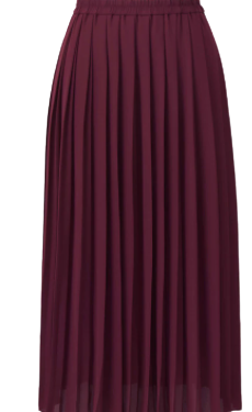 Buy: Pleated Long Skirt Size 6