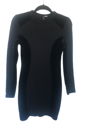 Buy: Gorgeous Long Sleeve Black Dress Size 8