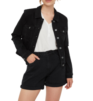Rent: Hot Soya Long Sleeve Denim Jacket