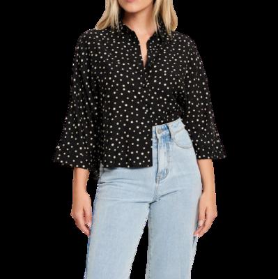 Rent: Rhianna Button Up Shirt BNWT Size 8