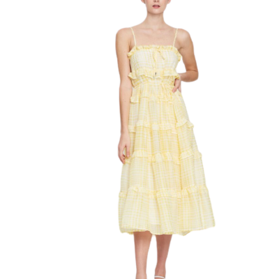 Rent: Stealing Sunshine Sleeveless Dress Size 10
